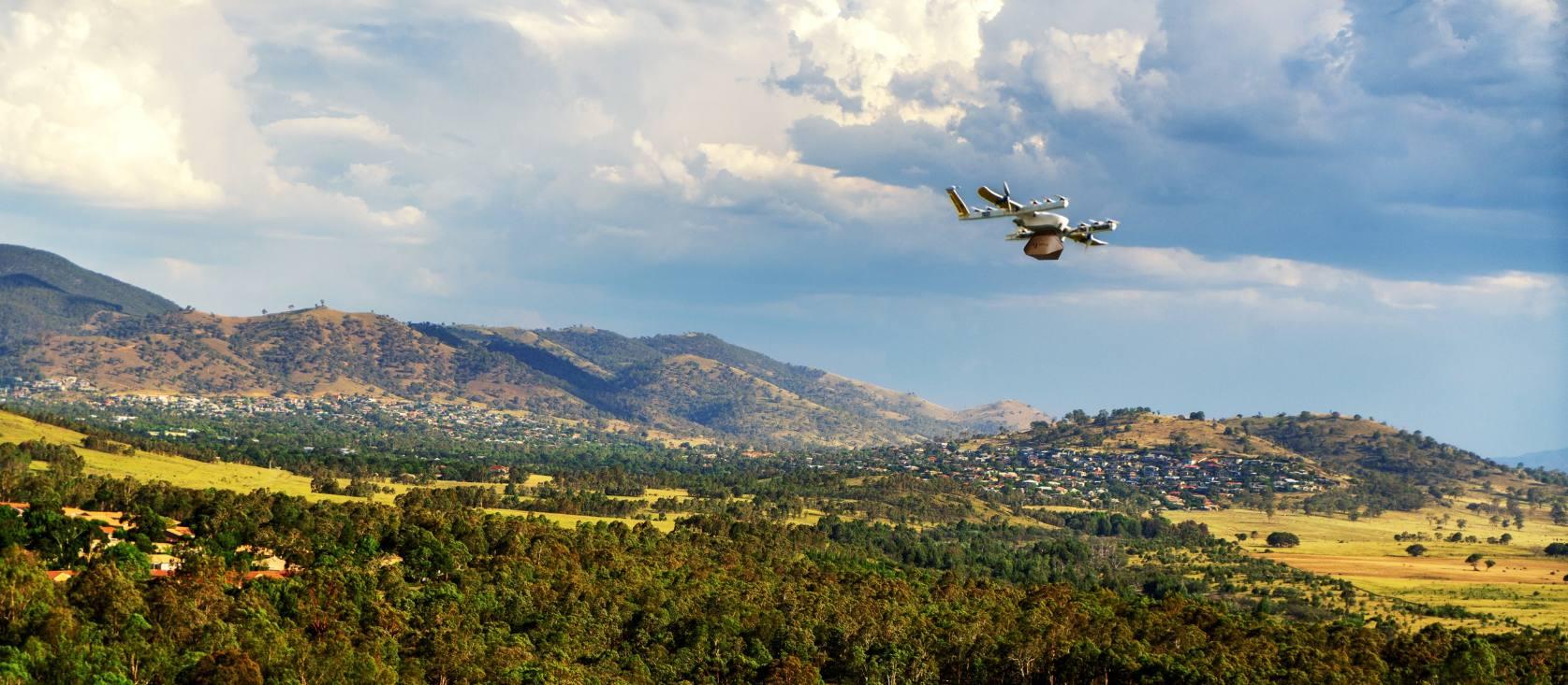 Livraison par drones : le projet Wing devient réalité