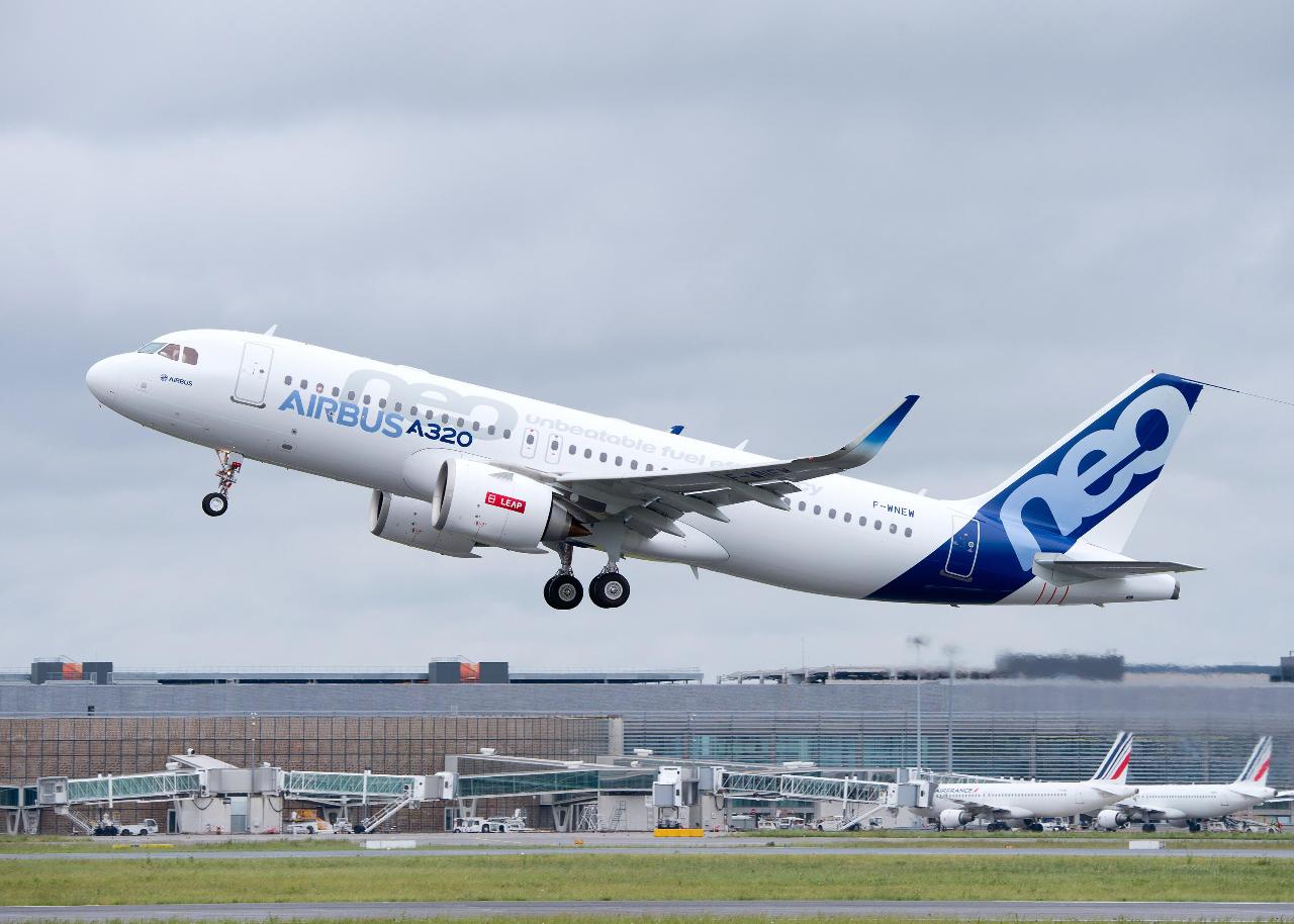 Pegasus Airlines reçoit son premier A320neo Leap-1A