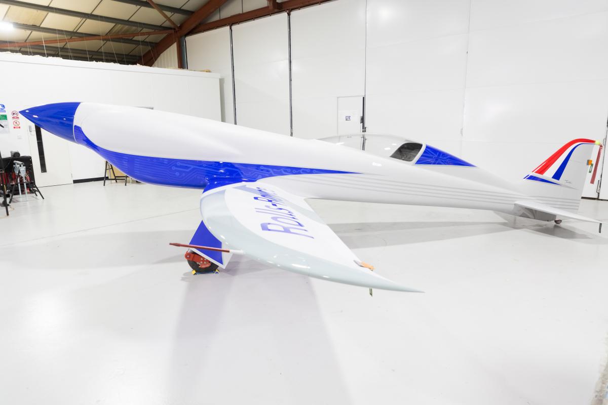 Rolls-Royce dévoile un avion 100% électrique avec l'objectif d'atteindre une vitesse record