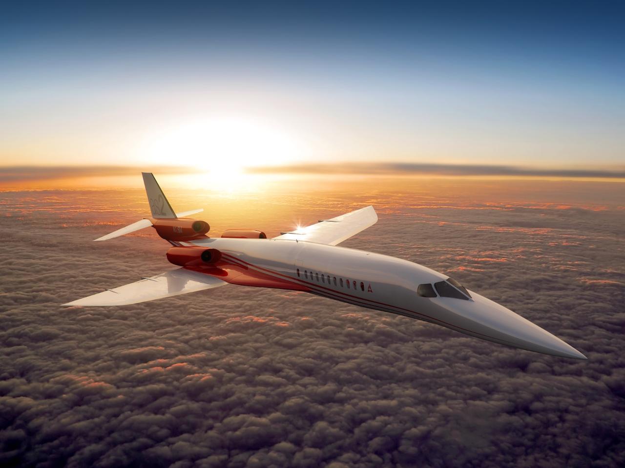 EBACE 2014 : Aerion dévoile une version trimoteur de son supersonique