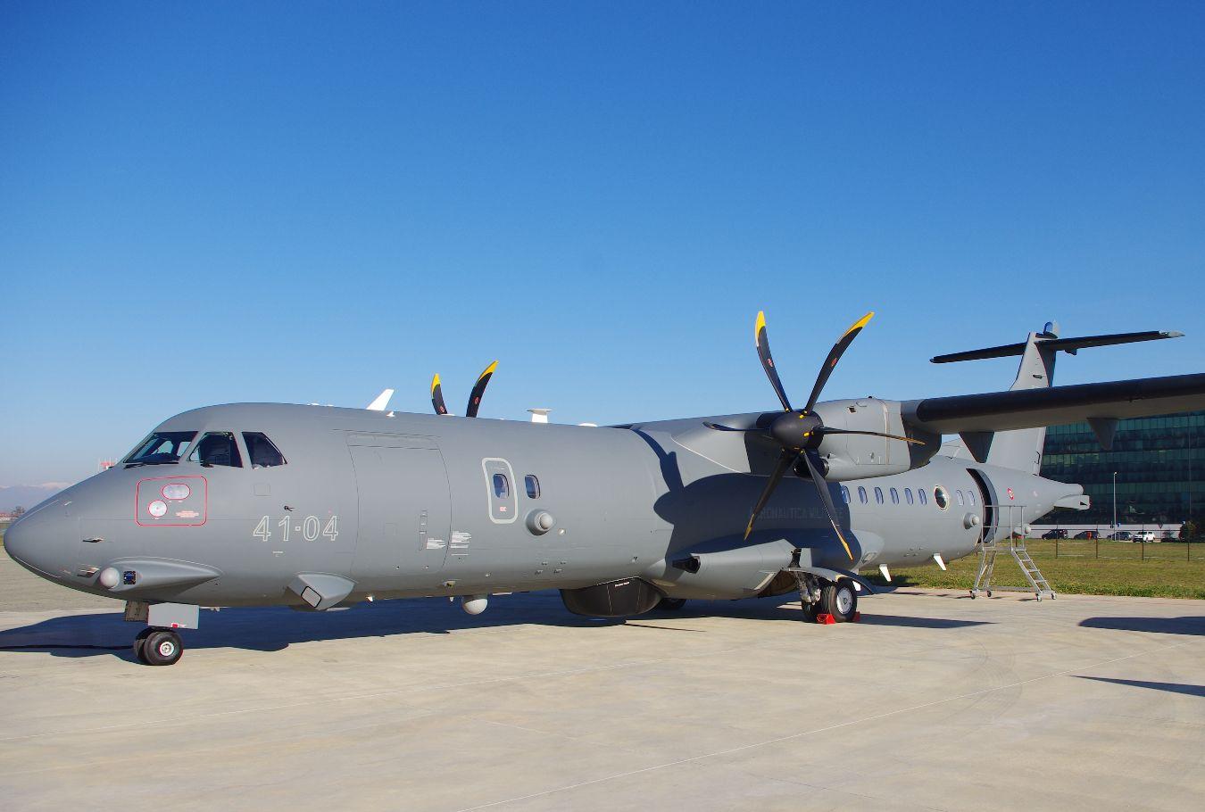 L'Italie réceptionne son premier ATR 72-600 en version surveillance maritime