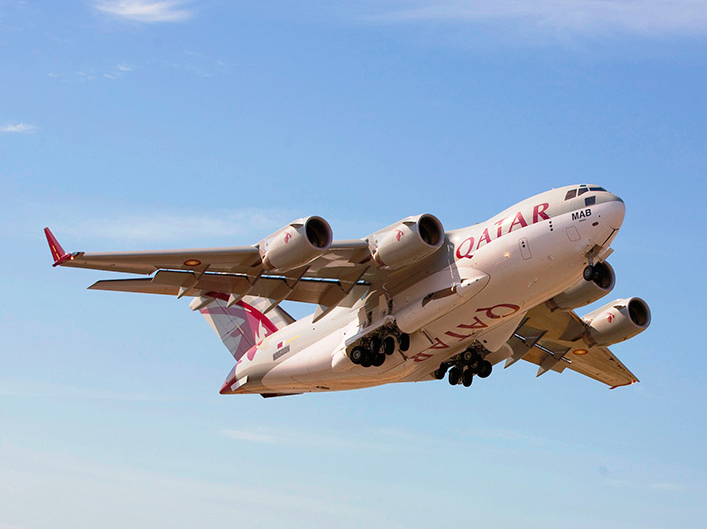 Bourget 2015 : Le Qatar confirme la commande de 4 C-17
