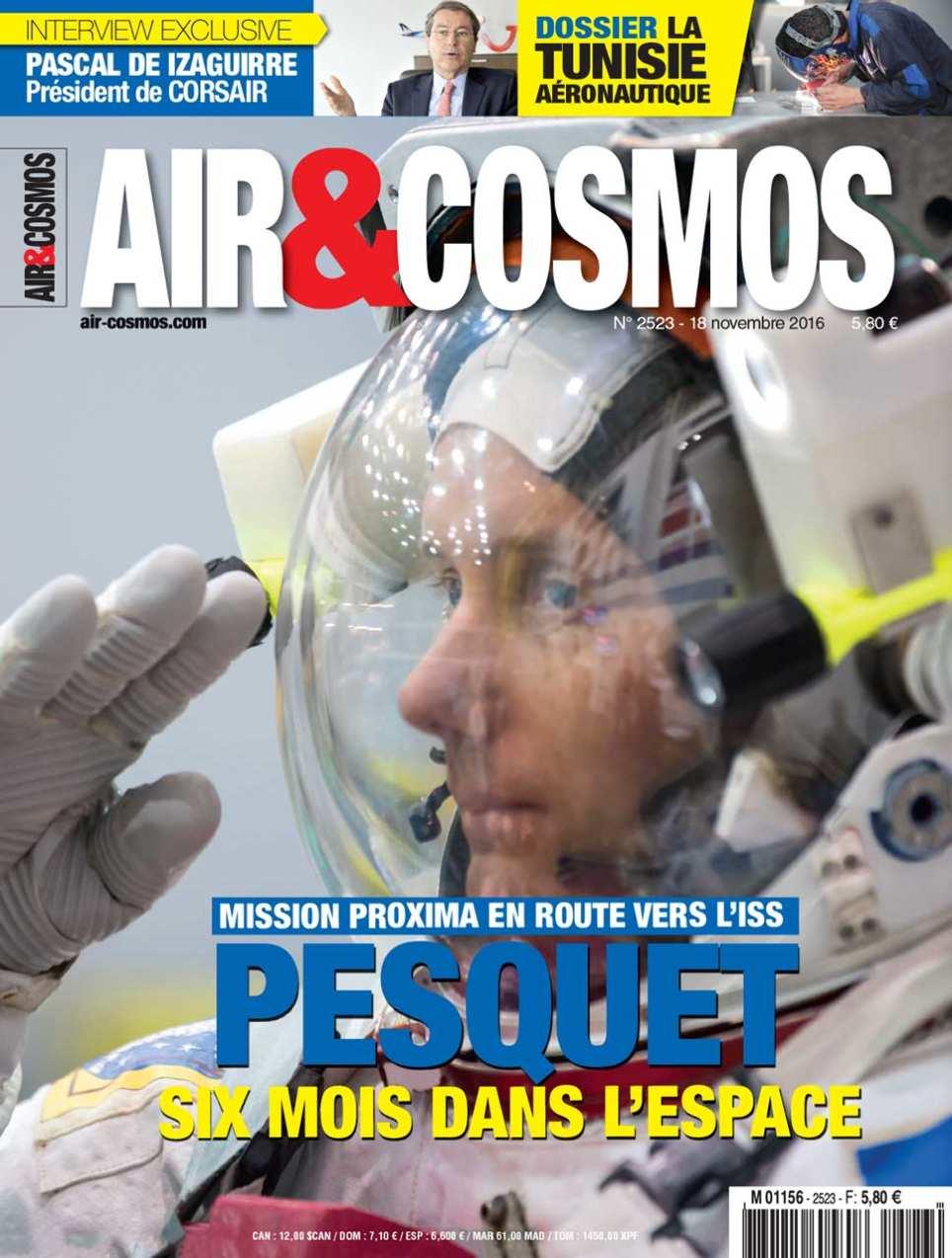 Thomas Pesquet en route pour l'ISS