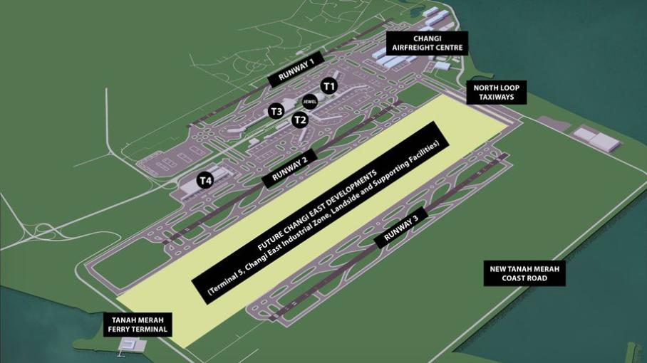 Singapore Airshow 2020 : Le projet de Changi East est lancé