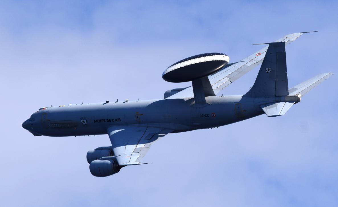 Chammal : 1 000 heures de vol pour les Awacs Français