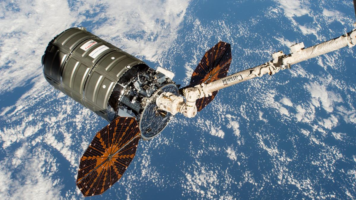 Le vaisseau-cargo Cygnus NG 13 a quitté l'ISS
