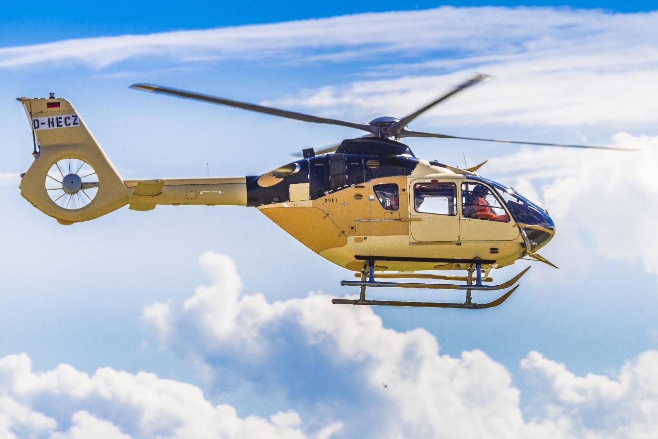 L'avionique Helionix du H135 certifiée Aesa
