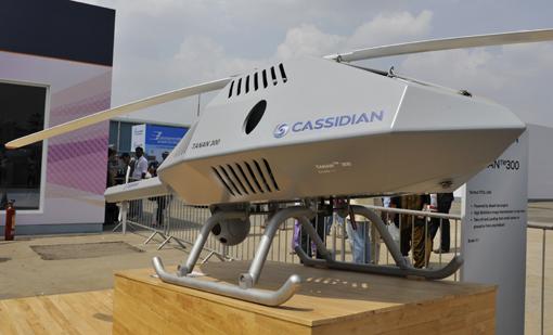 Aero India : Cassidian expose son Tanan 300