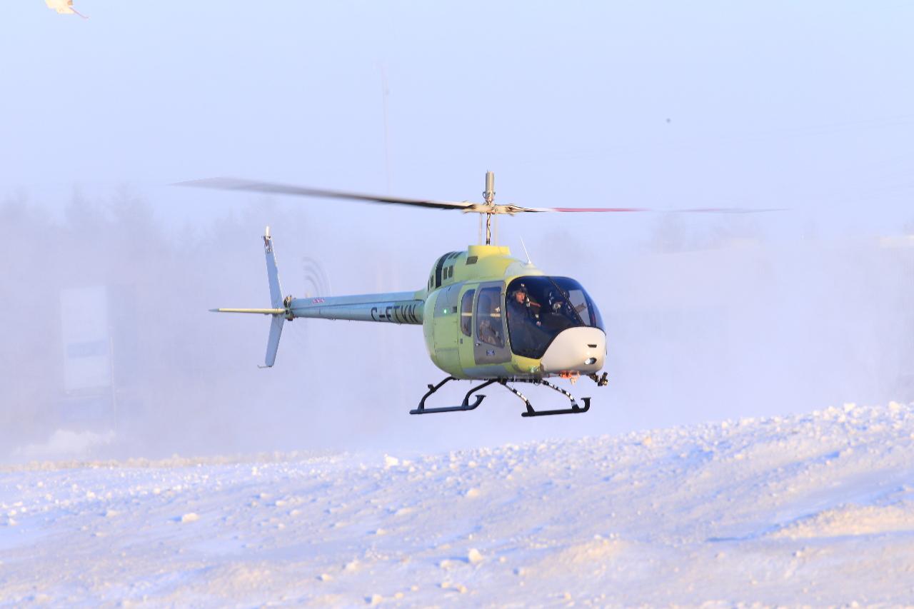 Le Bell 505 Jet Ranger X certifié par Transports Canada