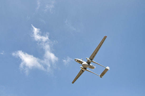 Israël : le drone Heron fait de la surveillance maritime
