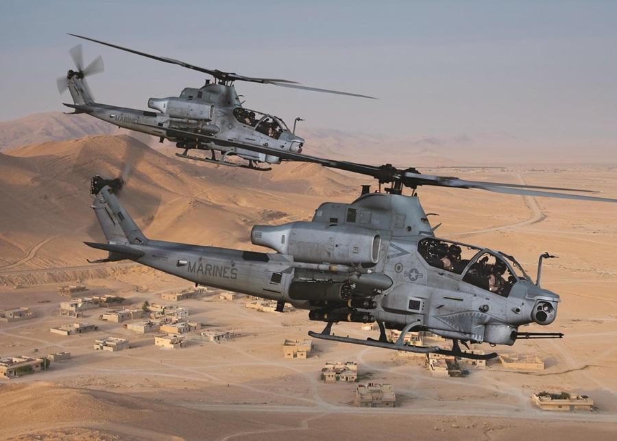 Les AH-1Z pour Bahreïn