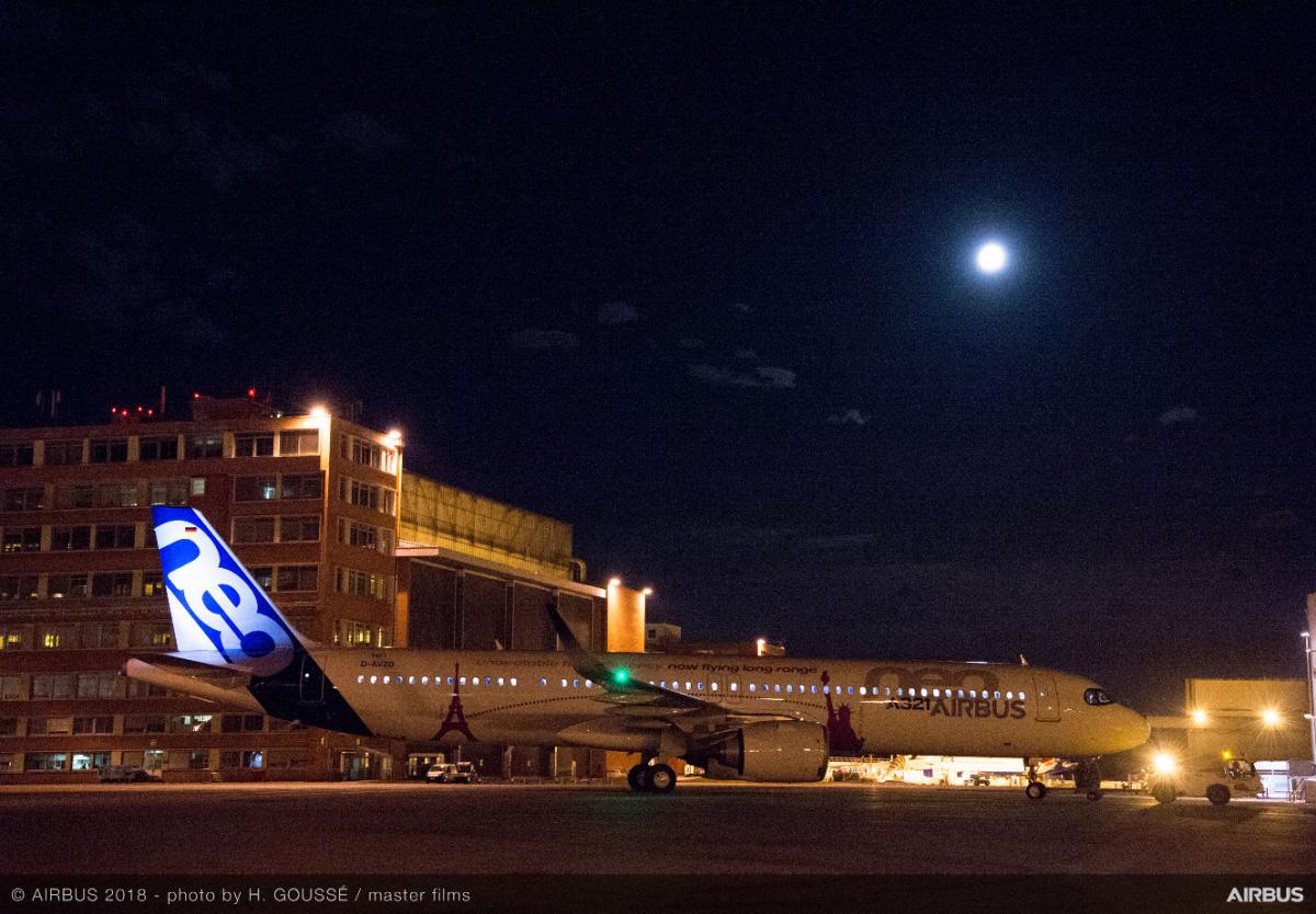 Bourget 2019 : 600 ou 900 nm de plus pour l'Airbus A321LR ?