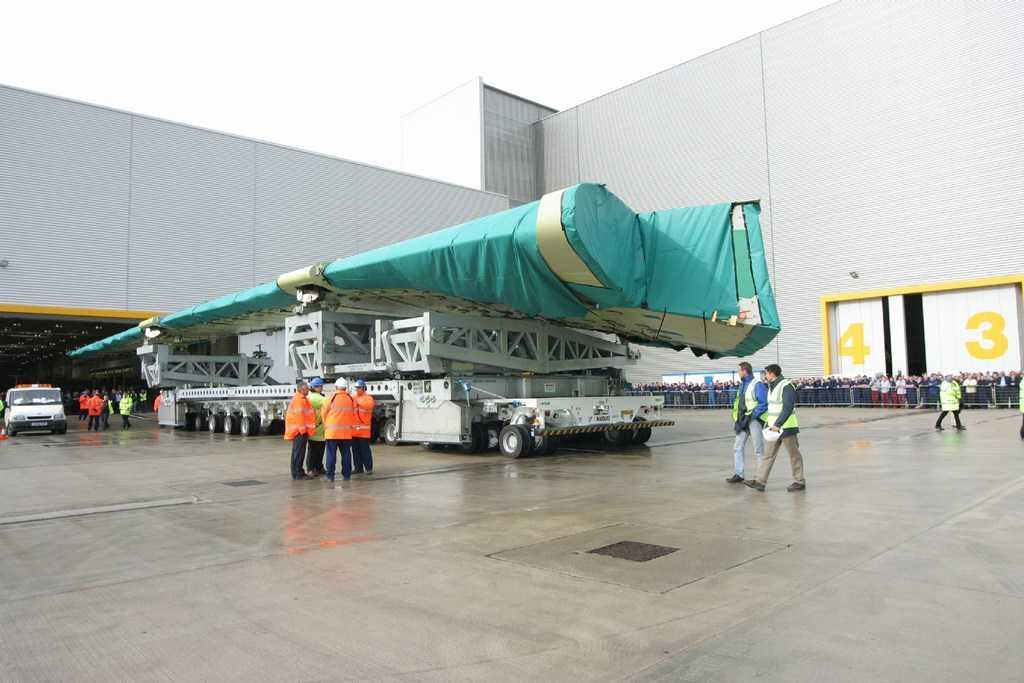 Airbus A380 : les dernières ailes quitteront Broughton les 6 et 7 février