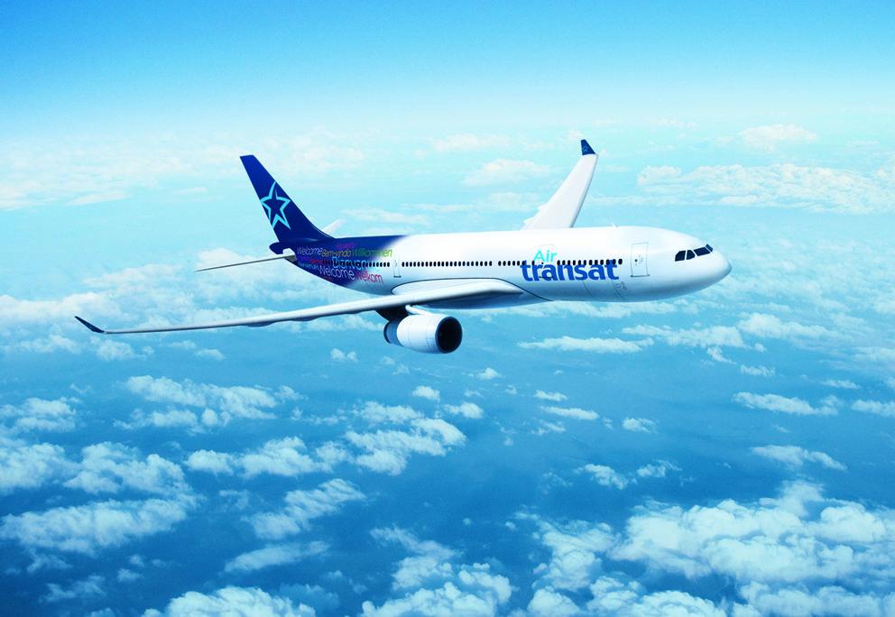 France : Air Transat augmente ses capacités l'été prochain