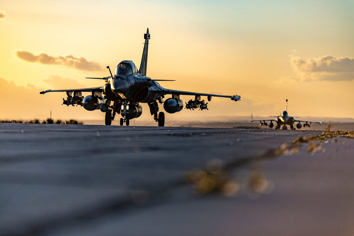 Armée de l'Air : les FAS retournent à Taverny