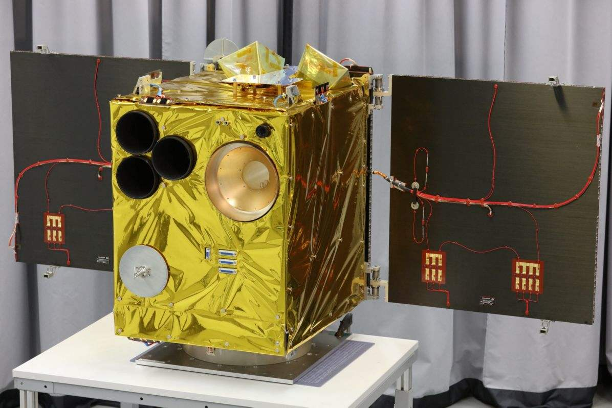 Successful launch of German mini-satellite