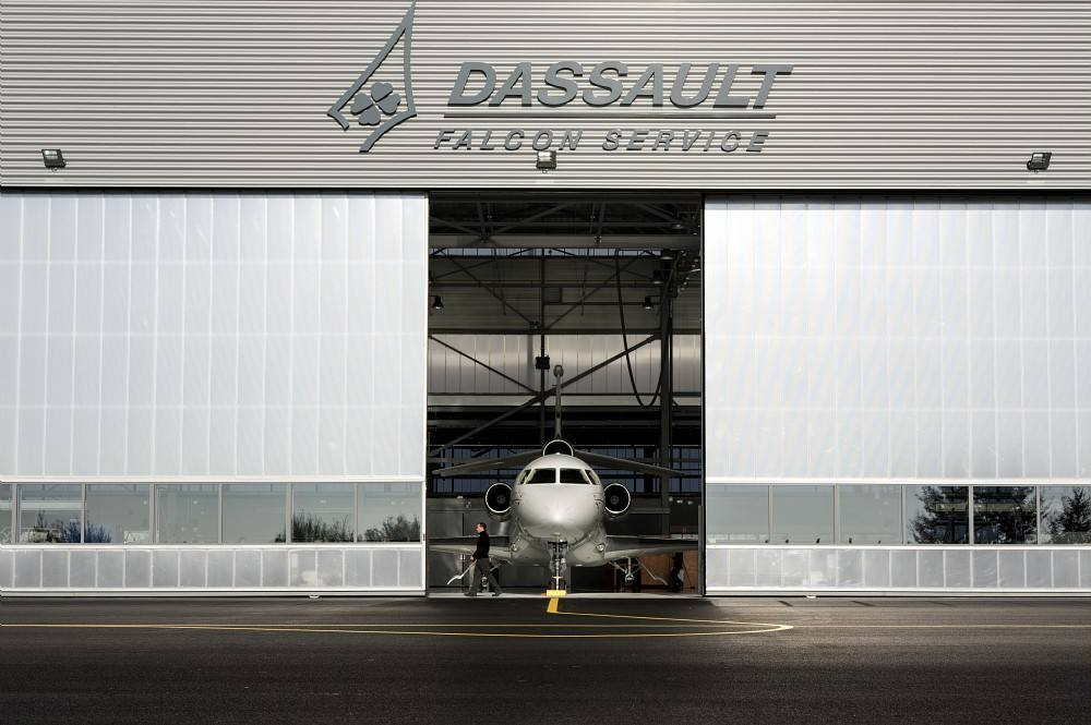 MRO : nouveau centre Dassault Falcon Service à Mérignac