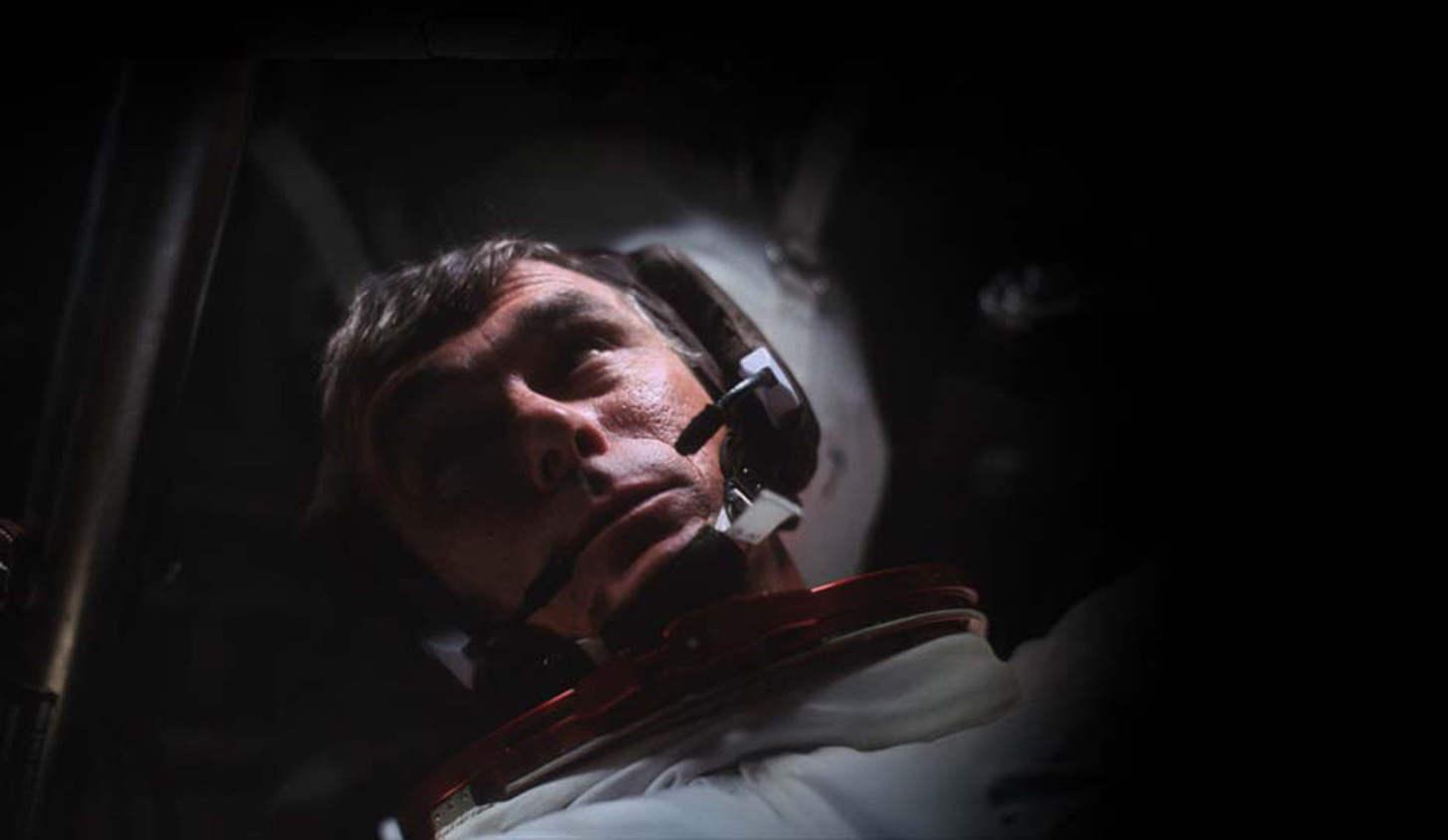Décès de Gene Cernan, dernier homme sur la Lune