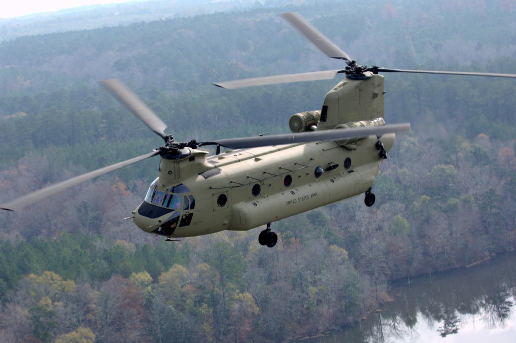 Vente géante d'hélicoptères Boeing au Moyen Orient