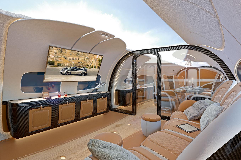 Airbus Corporate Jets dévoile la cabine Infinito pour l'ACJ319neo