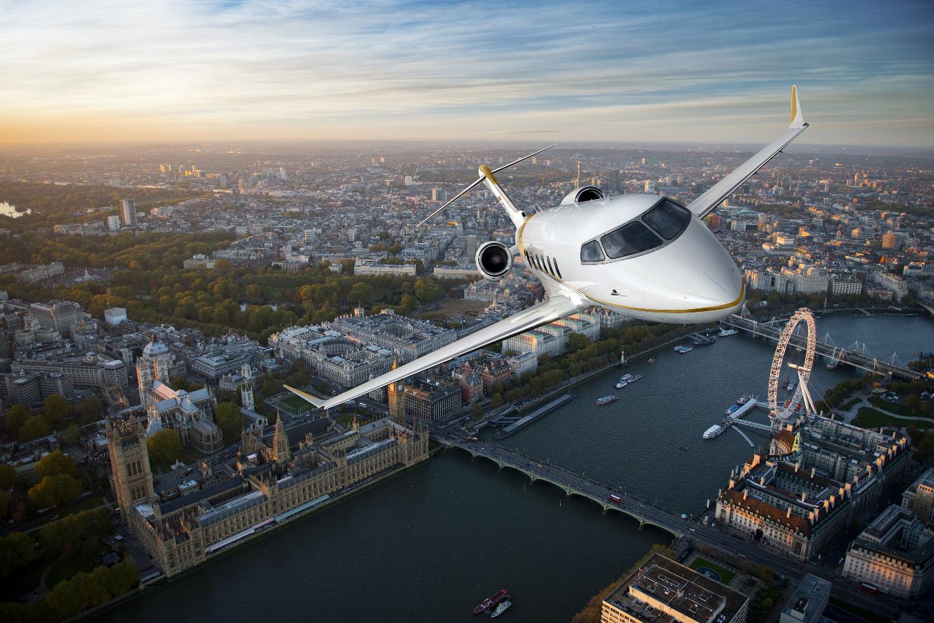 Le Challenger 350 pourra bientôt se poser à Londres City Airport