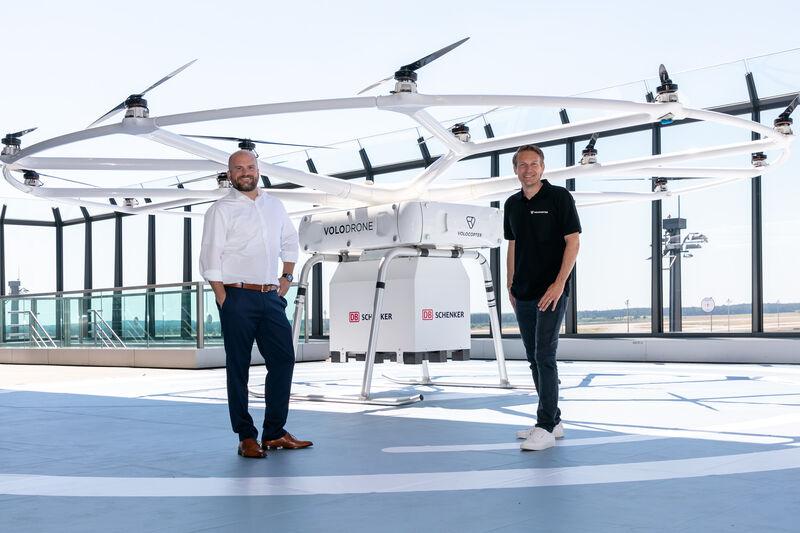 Volocopter et DB Schenker annoncent le premier plan pour les opérations de VoloDrone