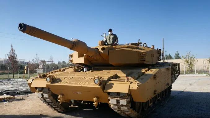 ROKETSAN: tests du blindage destiné au tank Leopard 2A4 au Centre de Protection Balistique