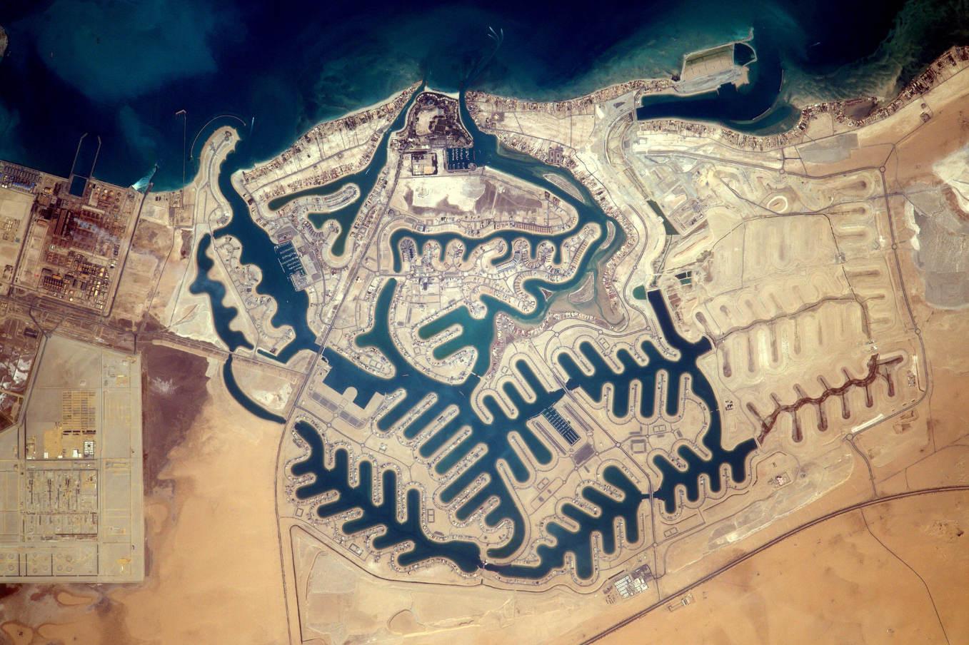 La Terre dans l'oeil de Thomas Pesquet #75 : les dentelles d'Al-Khiran