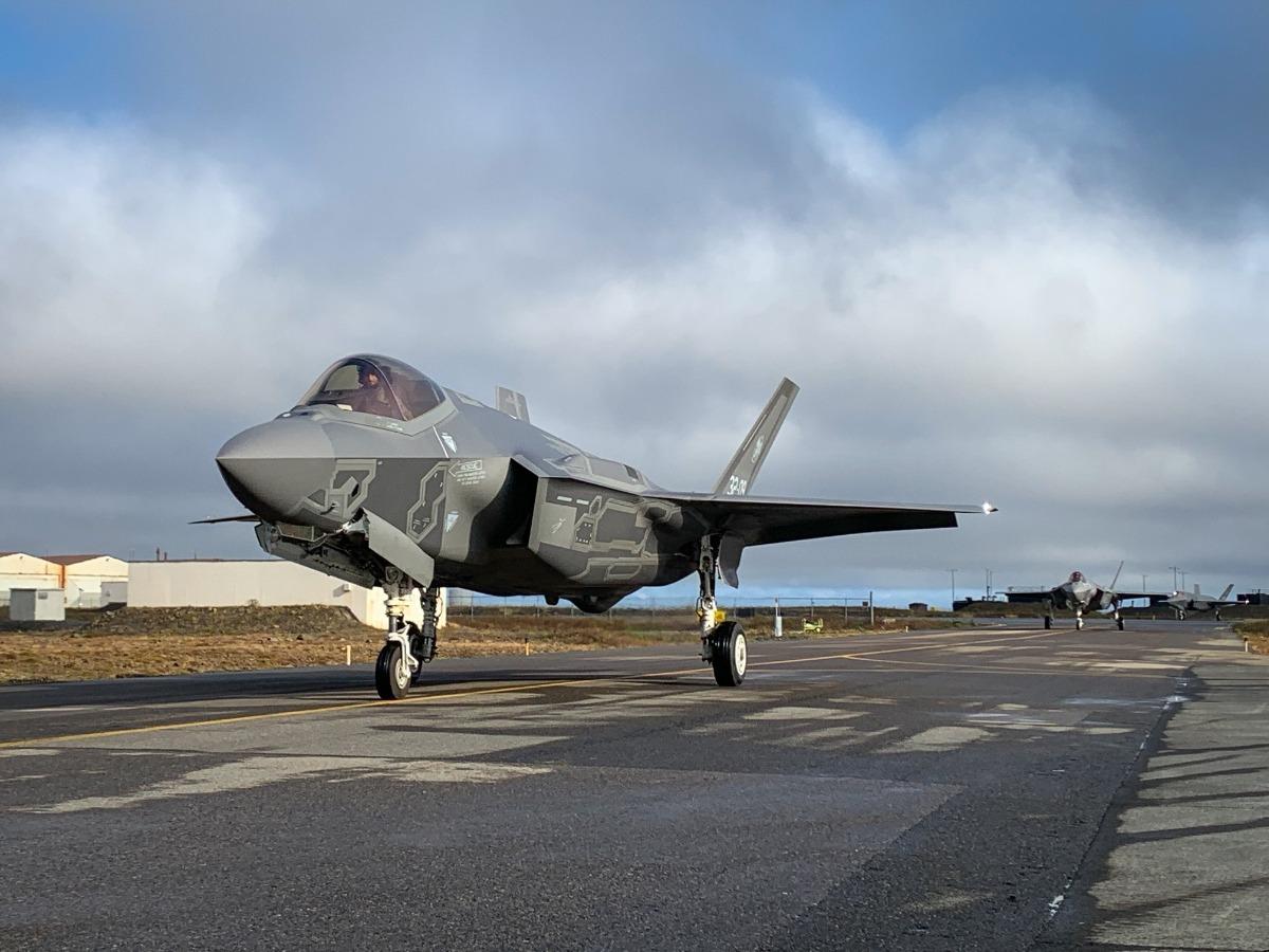 Des F-35 rejoignent l'Islande