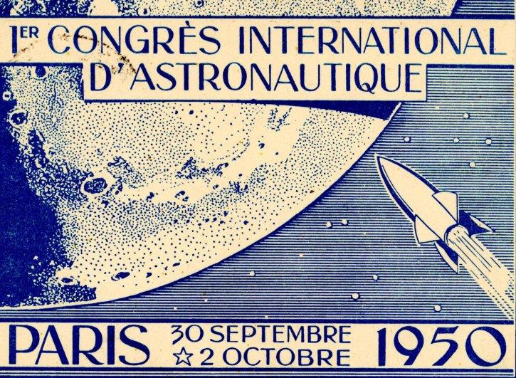 Il y a 70 ans, à Paris, le premier Congrès international d'astronautique