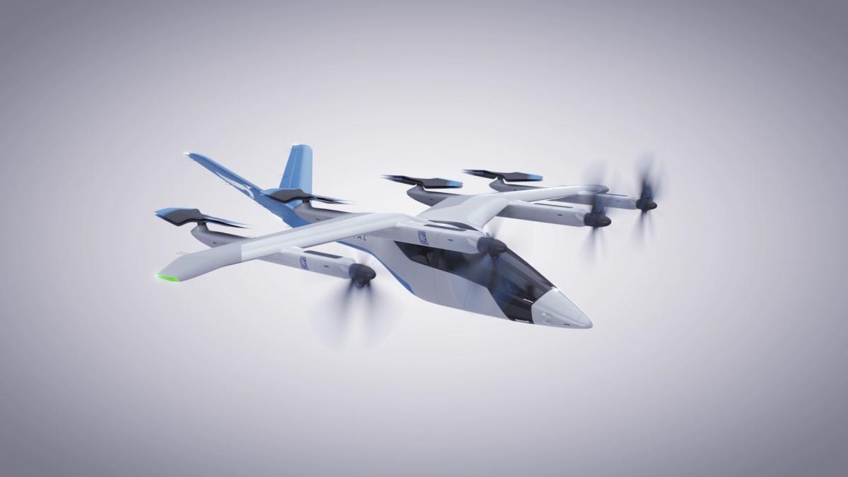 Rolls-Royce va équiper le taxi aérien urbain de Vertical Aerospace