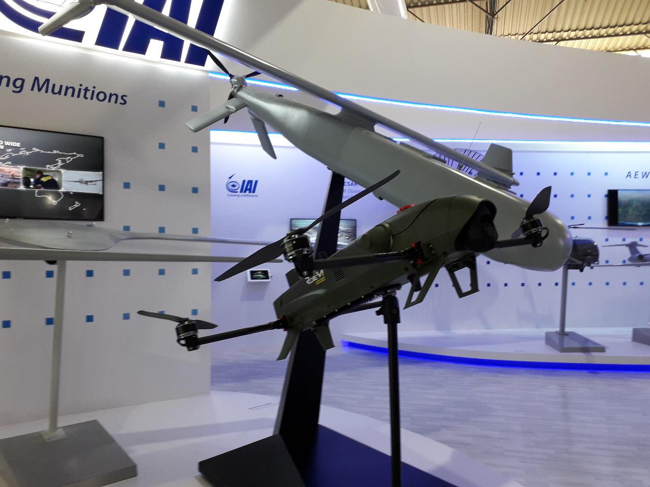 AeroIndia 2019 : IAI présente ses drones kamikazes