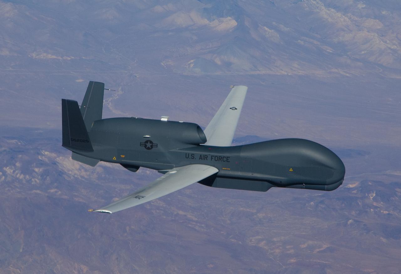L'USAF s'essaie à la surveillance maritime avec le drone Global Hawk