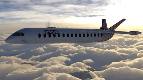 Avion électrique : Volotea s'allie avec Air Nostrum et Dante Aeronautical