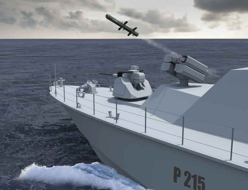 MBDA introduces naval versions of MMP missile