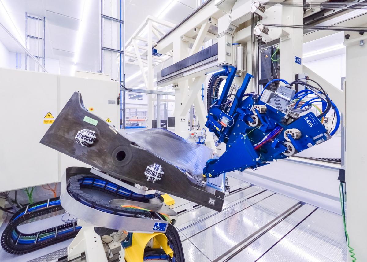 Rolls-Royce débute la fabrication des aubes de soufflante de l'UltraFan