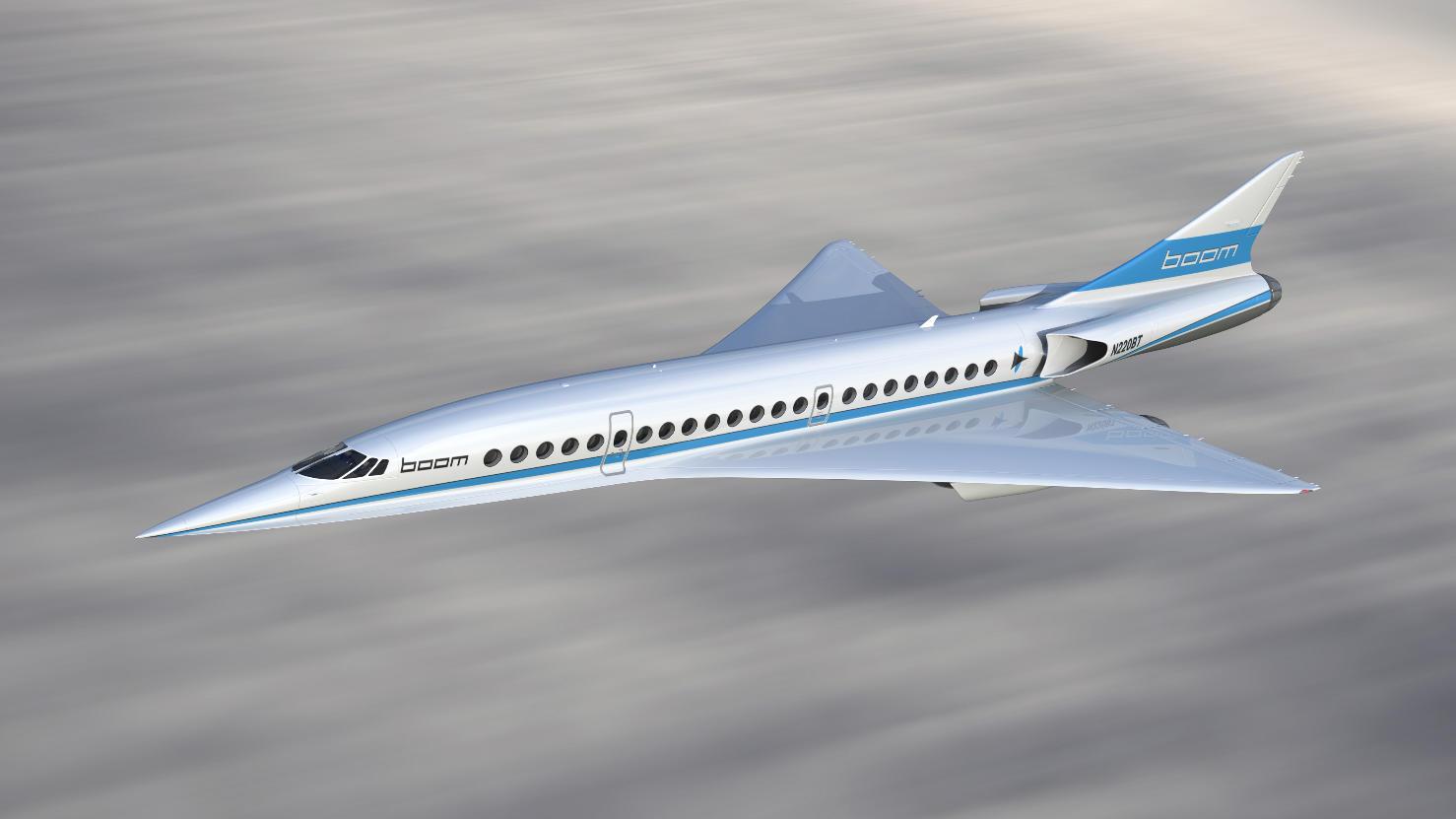Dubai Airshow 2017 : Boom cherche un site de production pour son liner supersonique