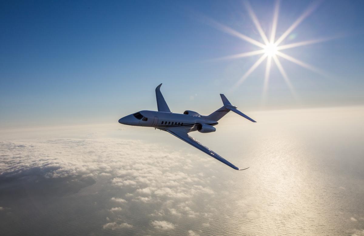 Le Cessna Longitude est certifié AESA