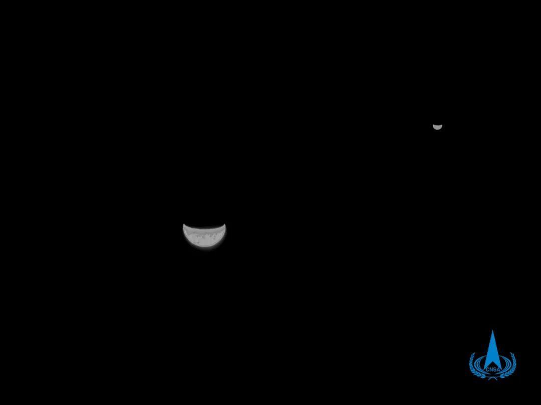 La sonde martienne Tiawan 1 jette un œil dans le rétroviseur