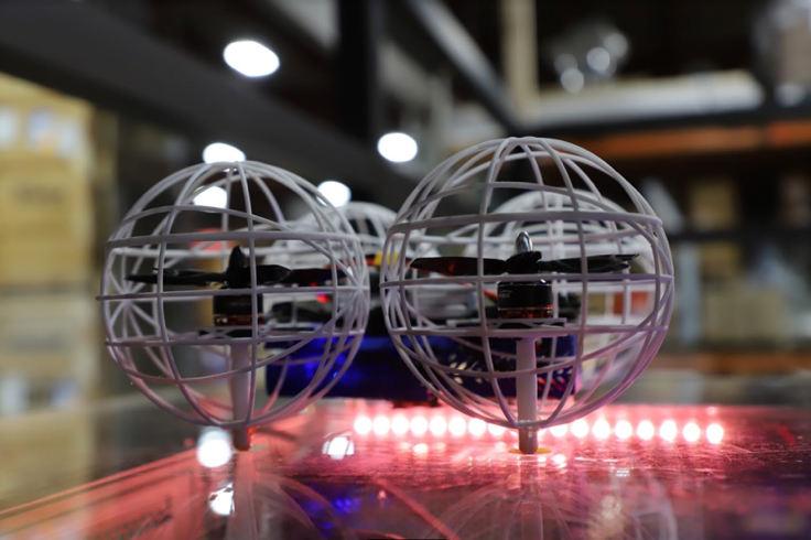 La société Pensa utilise les drones pour les inventaires