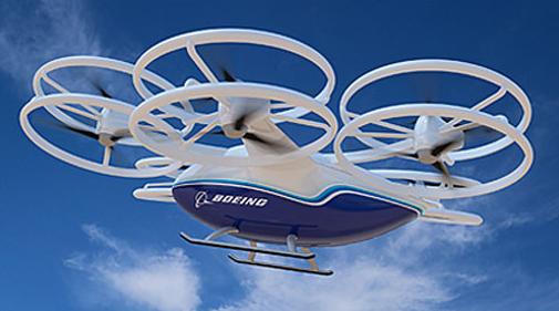 Le drone cargo de Boeing réalise son premier vol en extérieur