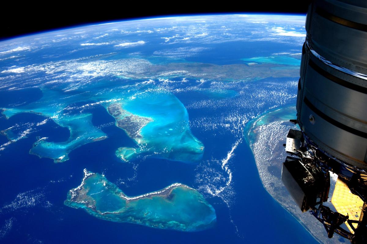 La Terre dans l'oeil de Thomas Pesquet, nouvelle saison : les bancs des Bahamas
