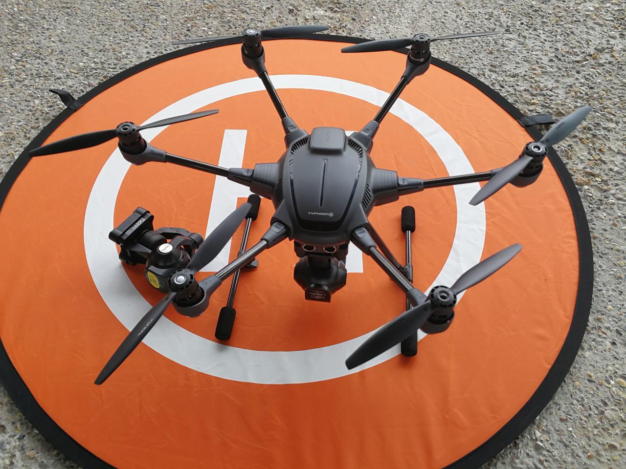 Les drones en renfort des pompiers