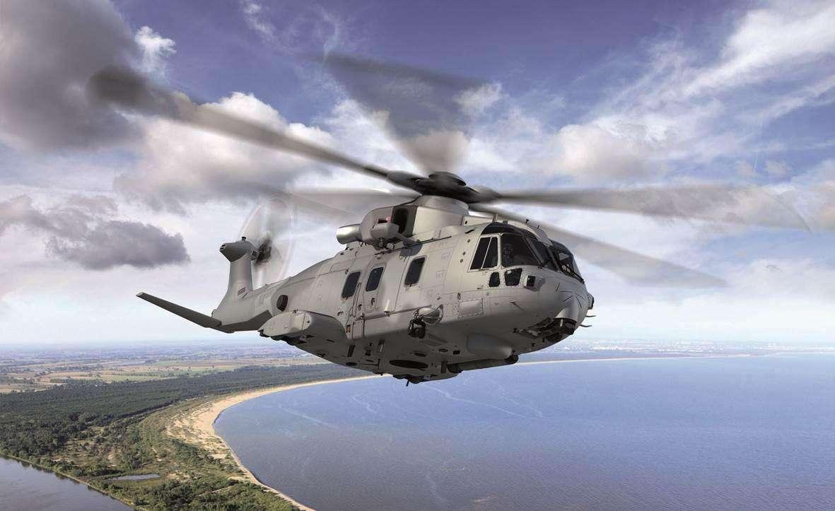 La Pologne commande des hélicoptères AW101