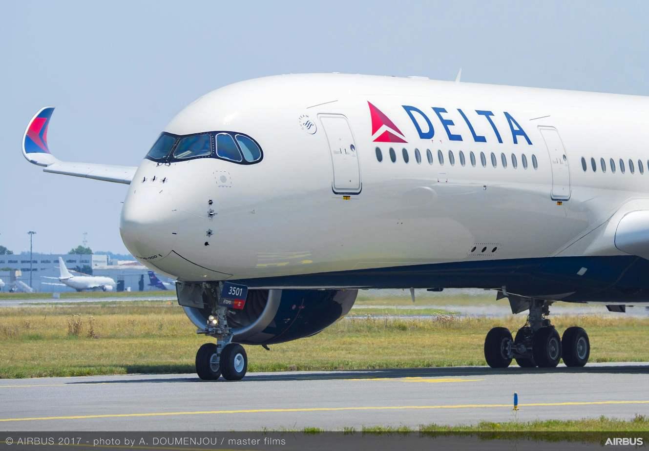 MRO : AFI KLM sur les Airbus A350 de Delta Air Lines