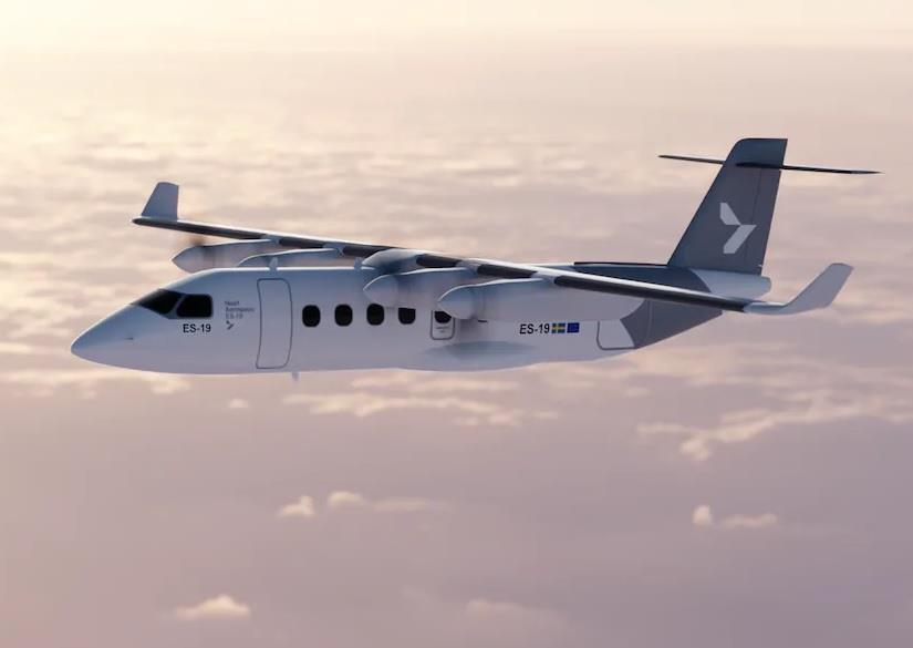Latécoère va concevoir les portes de l'ES-19 de Heart Aerospace