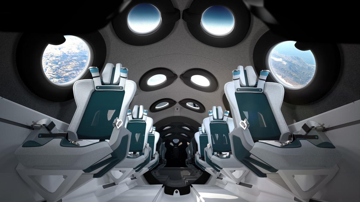 Bienvenue à bord de l'avion spatial SpaceShipTwo