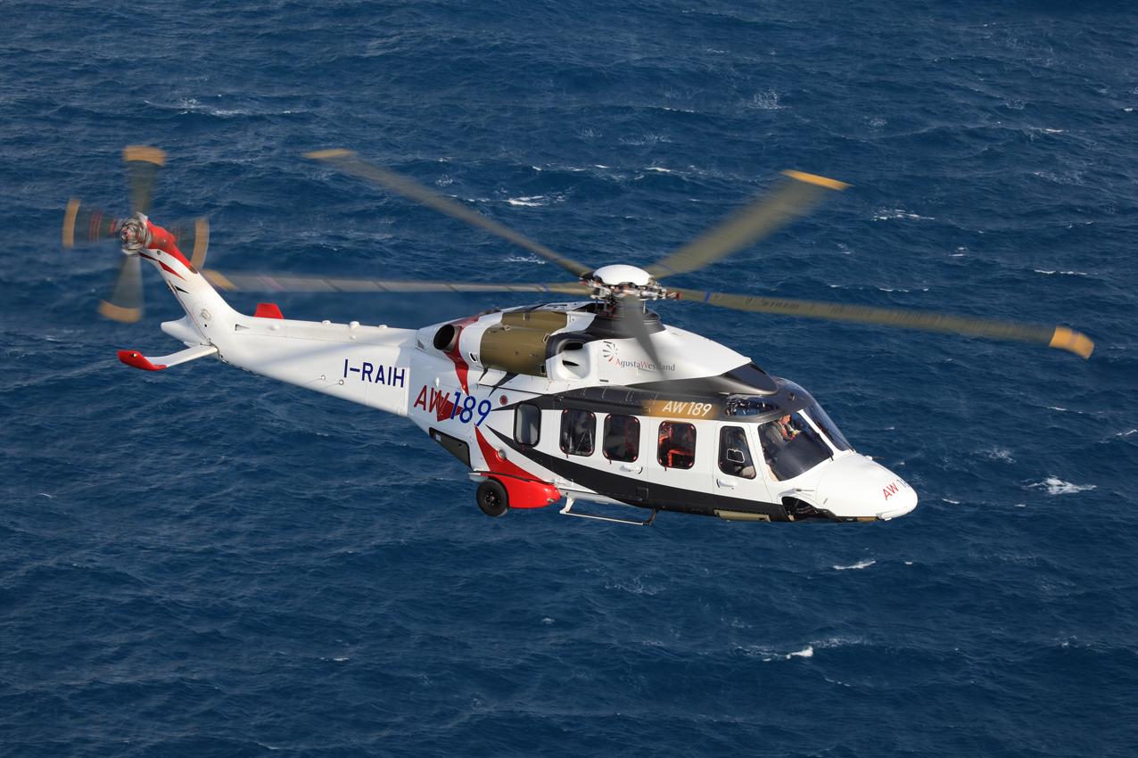 La Russie commande 10 hélicoptères AW 189 pour RN Aircraft