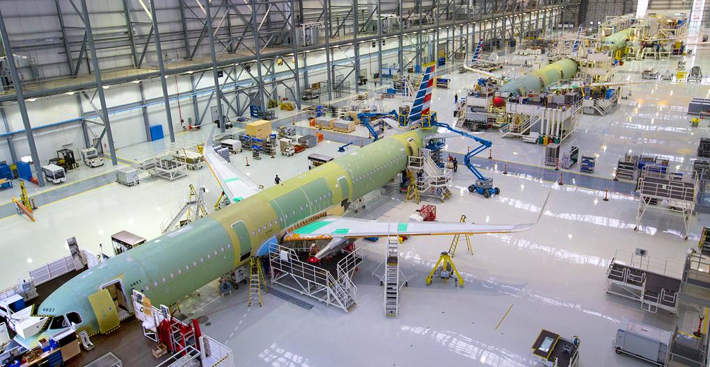 Airbus passe sous les 7 000 avions à livrer