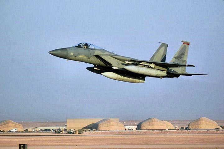 Des F-15 saoudiens sont arrivés en Turquie